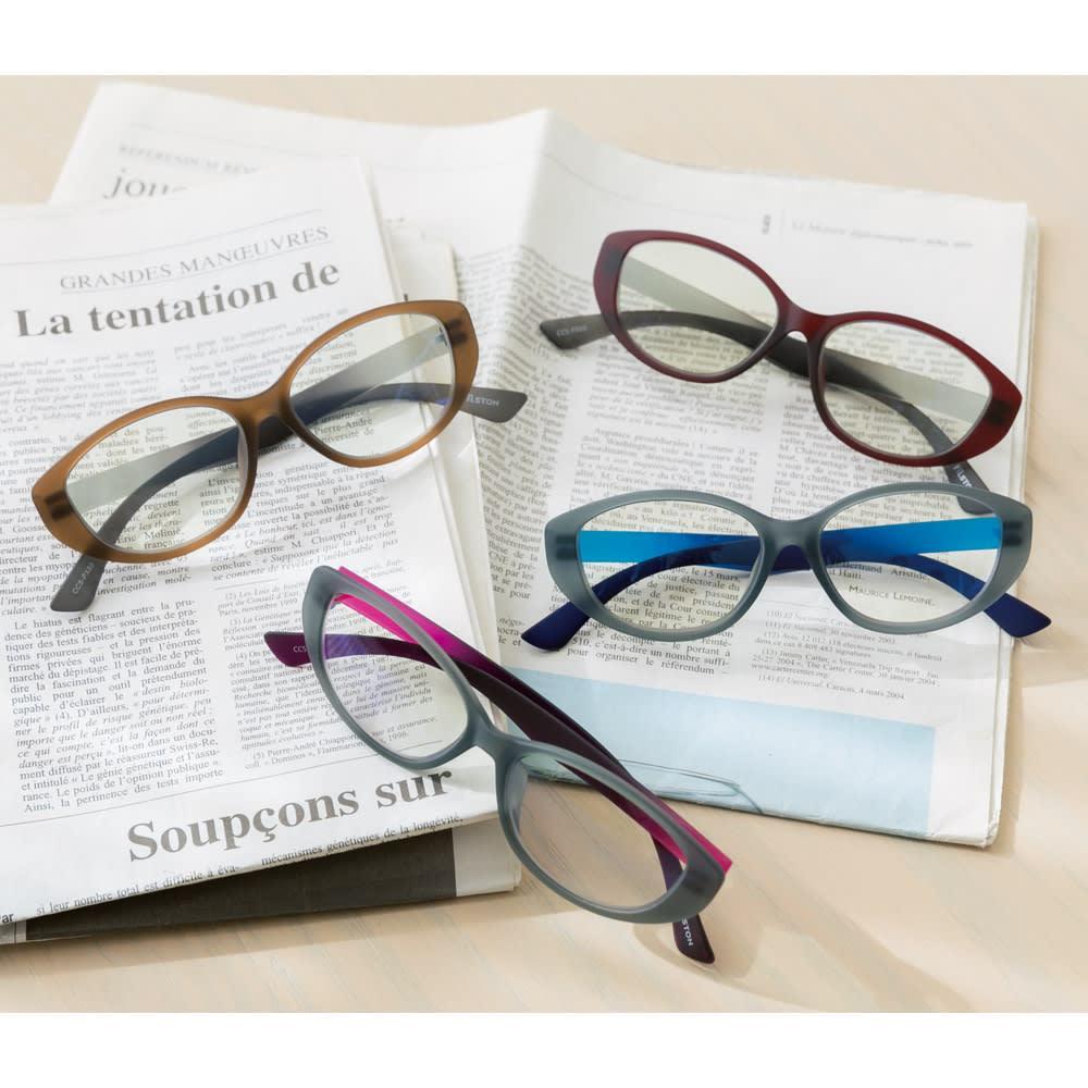 フィルストン カラーチェンジャーグラス レディース グレー/ダークレッド/ブラウン/ブルー サングラス・眼鏡