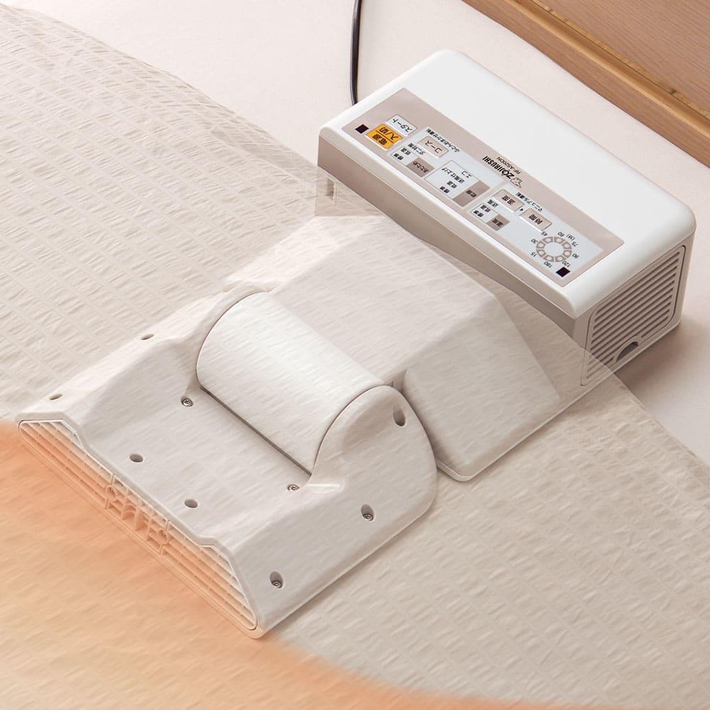 象印 プレミアム布団乾燥機 本体 脱臭機能付きベージュカラーはディノスでしか買えません。