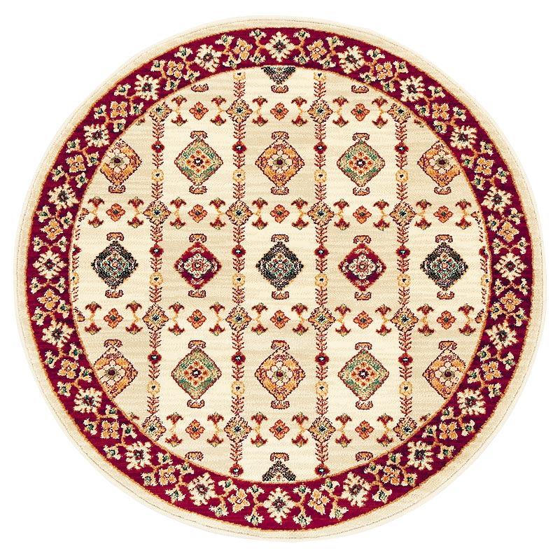 Abbie アビー ウィルトン織ラグ 円形 径約150cm ベージュ ※写真は円形100です