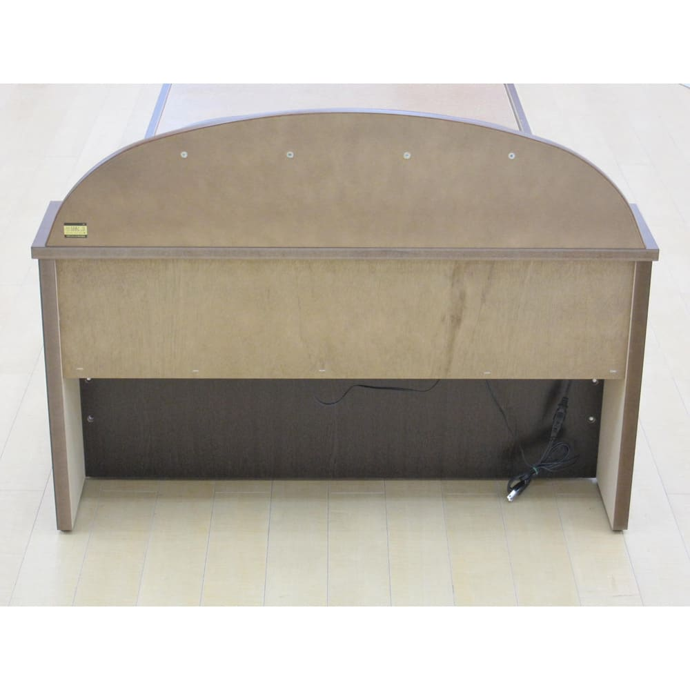 フランスベッド 棚・照明付ベッド マルチラススーパースプリングマットレス付き 背面