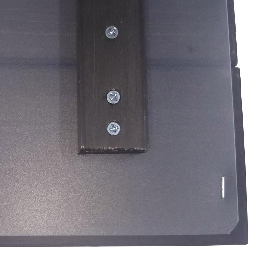 レンガ調収納ボックス 幅63cm 蓋裏は水が染み込みにくい仕上げ。