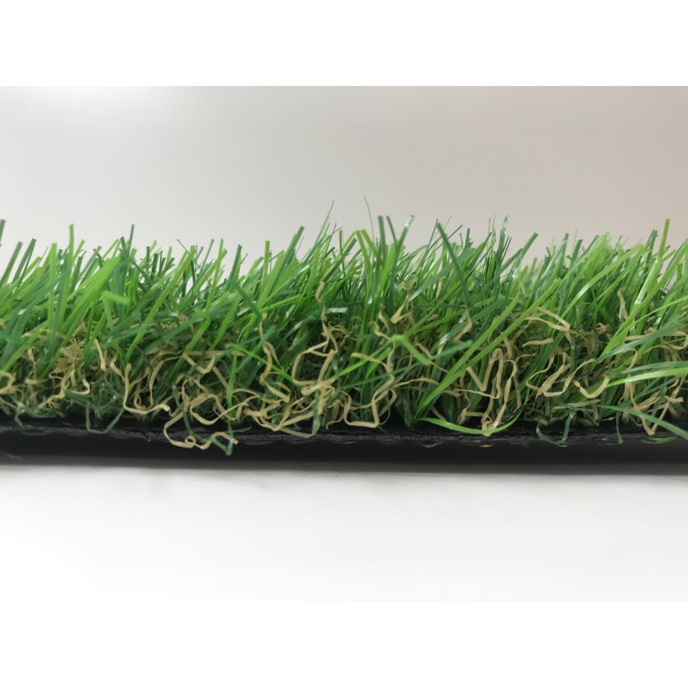 人工芝 4種の葉をミックスしてリアルな芝生を再現しています