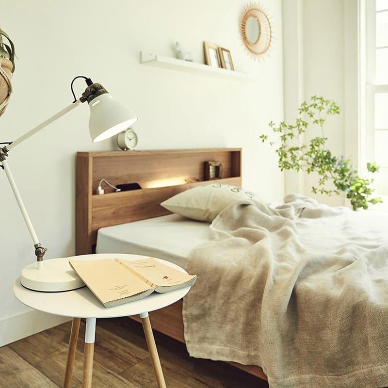 FranceBed/フランスベッド LED照明コンセントマットレス付ベッド