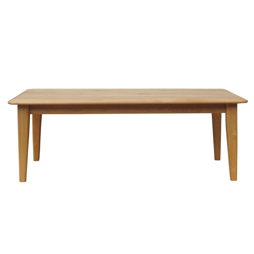 角の丸みが優しい天然木テーブル 幅105×奥行54×高さ37cm