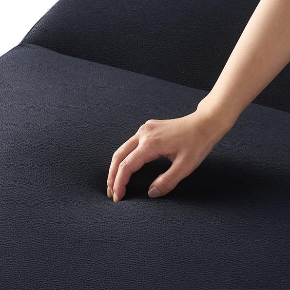 Katevasoh/カテバソー 収納付きマルチソファベッド ソファの座面はほどよく弾力があります。