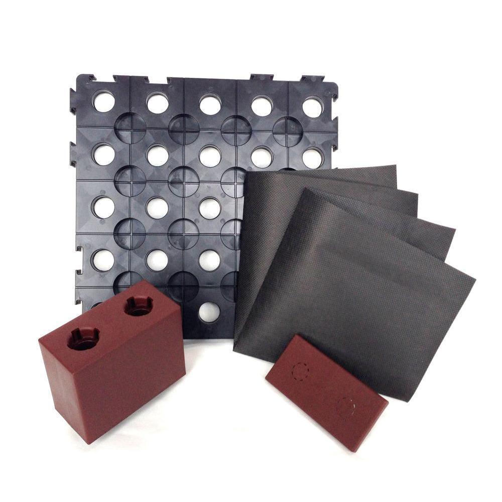 システムファーム 90×90 1段セット セットには枠材、天板材、底材、不織布が入っています。