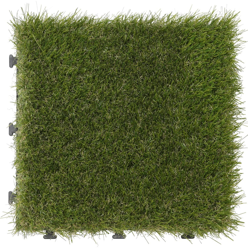 敷くだけ人工芝18枚組 1枚:30cm×30cm