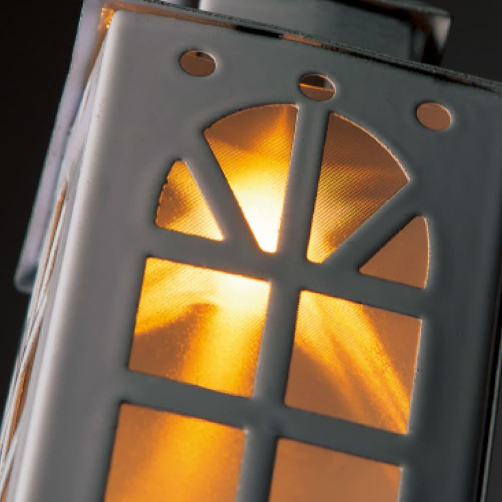 タイマー付電池式ガーランドライト・ランタンハウス 星の形の灯り