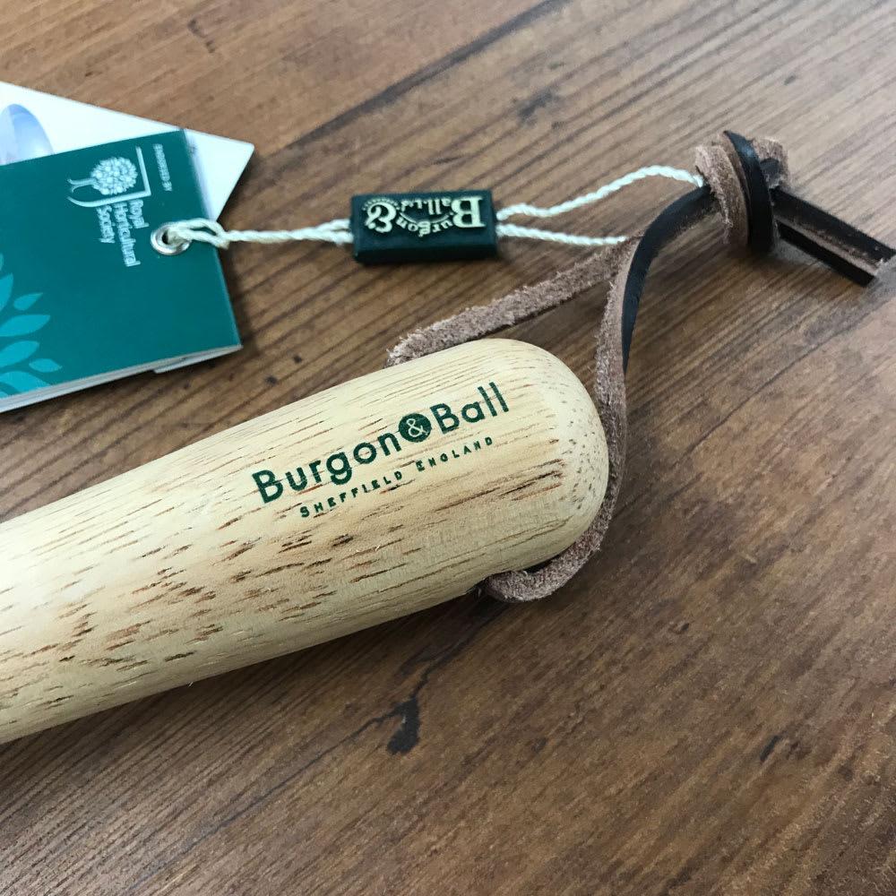 Burgon&Ball(バーゴン&ボール)ステンレスウィドガー(球根スコップ) RHS Stainless Widger