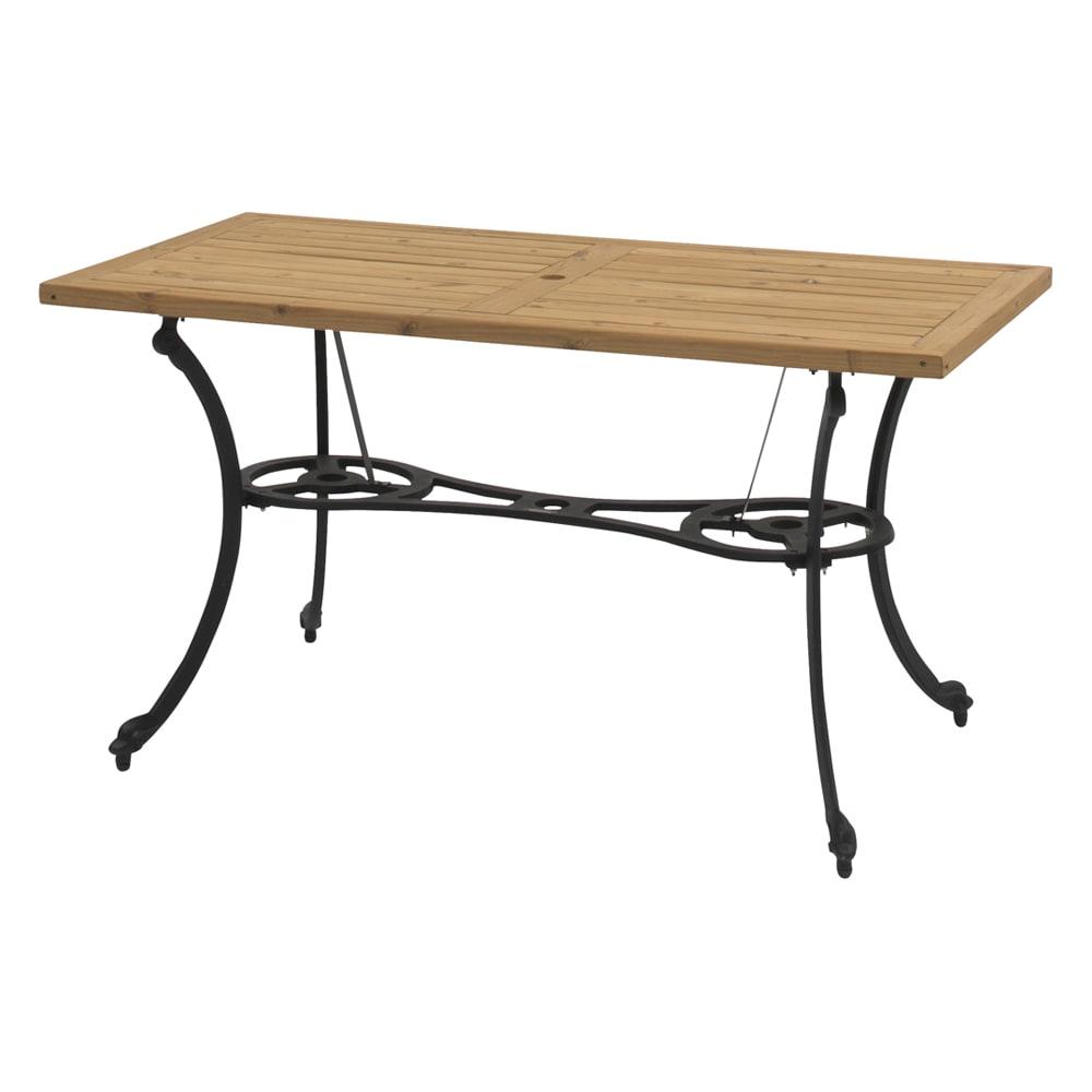 g-STYLE サーモウッドテーブル 5点セット