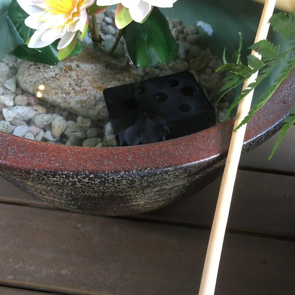 信楽焼 水鉢セット 13号
