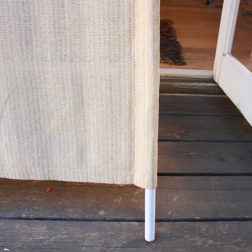 サマーオーニング洋風たてす 高さ240cm 立てかけるだけで簡単設置。