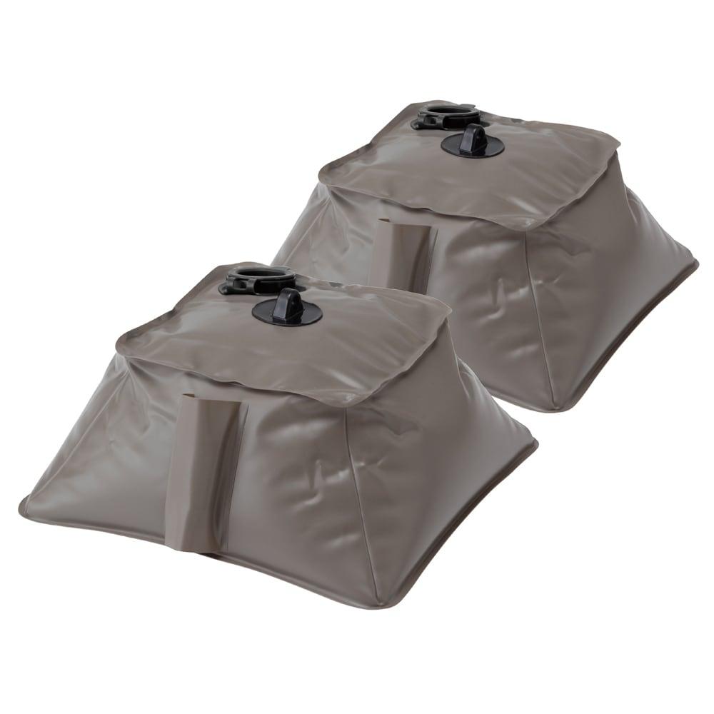 サマーオーニング洋風たてす 高さ240cm しっかり固定できて倒れにくいウェイト袋2個付き。水を入れて使用します。