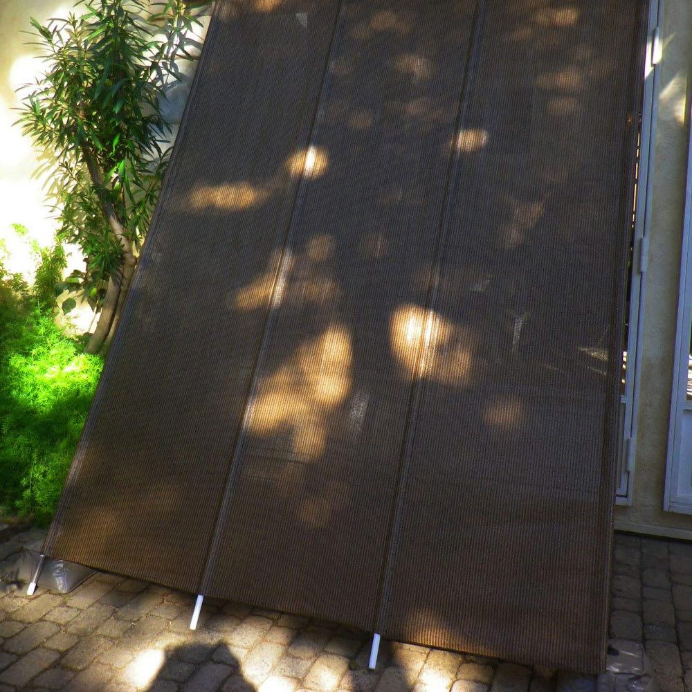 サマーオーニング洋風たてす 高さ270cm 「たてすタイプ」は伝統的な和の日よけをモダンにアレンジ。