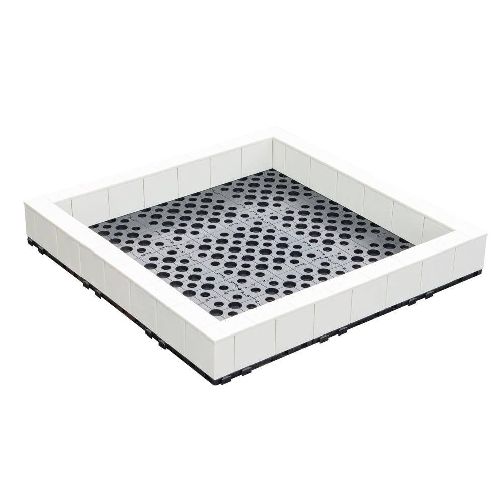 手作りファームキット 90×90 1段 (ウ)アイボリー