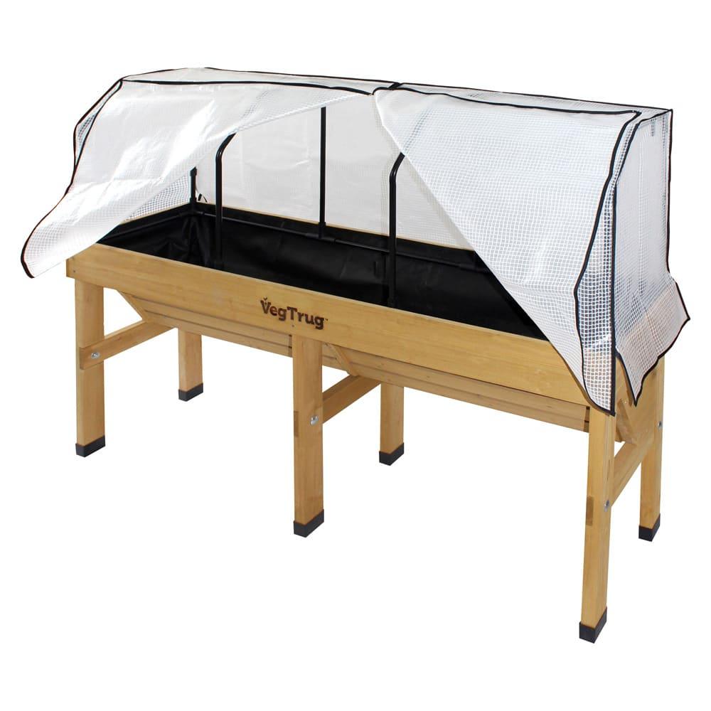 ベジトラグ 専用温室セット L 使用イメージ ※お届けは専用フレームとポリエチレン製カバーのみです。