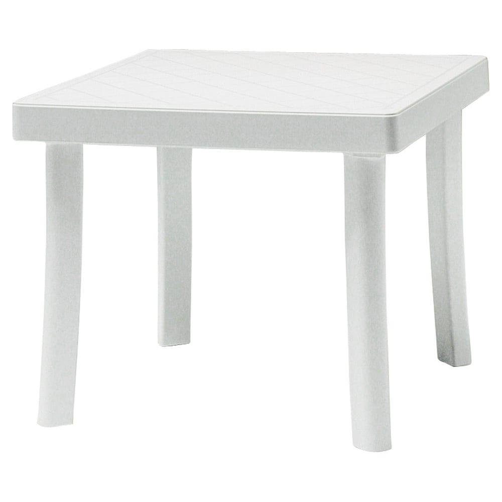 イタリア製ロディサイドテーブル(ホワイト)