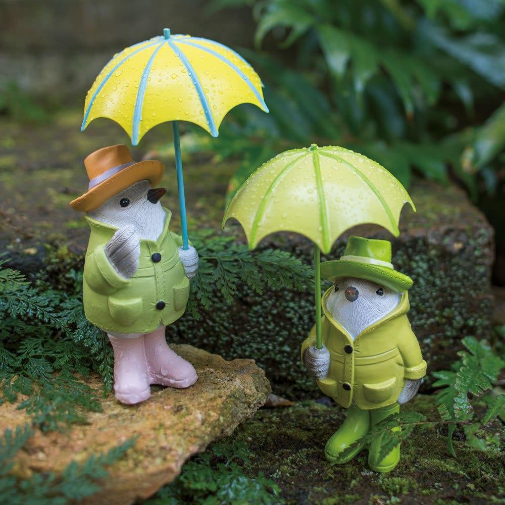 雨降り小鳥 2羽組 2羽組