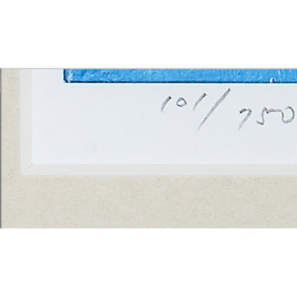 リャド ミニ版画 花のコンポジション エディションナンバー入り(番号は選べません)