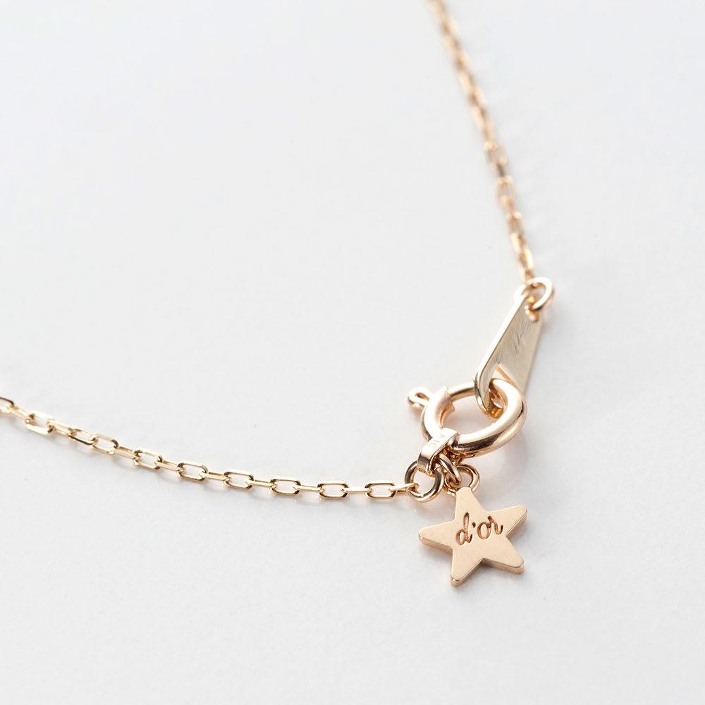 SNOOPY(スヌーピー)/star★d'or Wishing star K10YG フレンドリーペンダント|PEANUTS 2cmサイズ調整カン付き