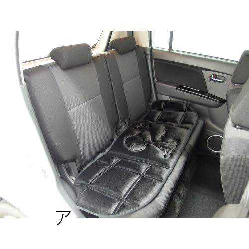 SNOOPY(スヌーピー)/スヌーピーハートフル 後部座席用シートクッション約125×42cm(カー用品) PEANUTS ア:使用イメージ