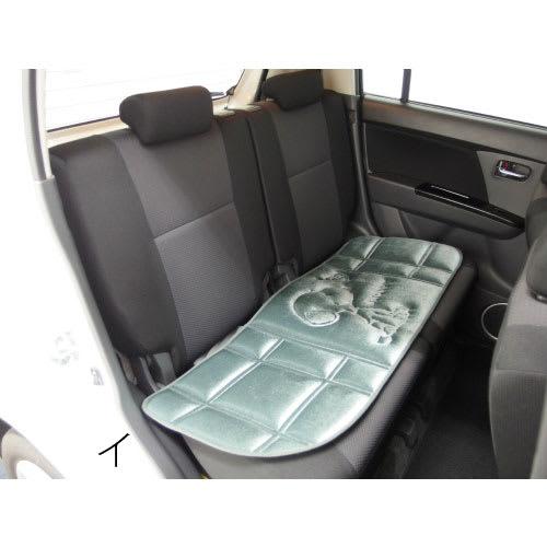 SNOOPY(スヌーピー)/スヌーピーハートフル 後部座席用シートクッション約125×42cm(カー用品) PEANUTS イ:使用イメージ