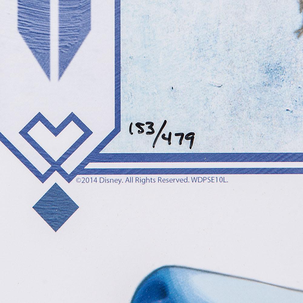 アナと雪の女王 プレミアムアートフレーム(マット付き)縦80×横64.5cm 作品名「An Enchanted Winter」 エディションNo入り *エディションNoはお選びいただけません