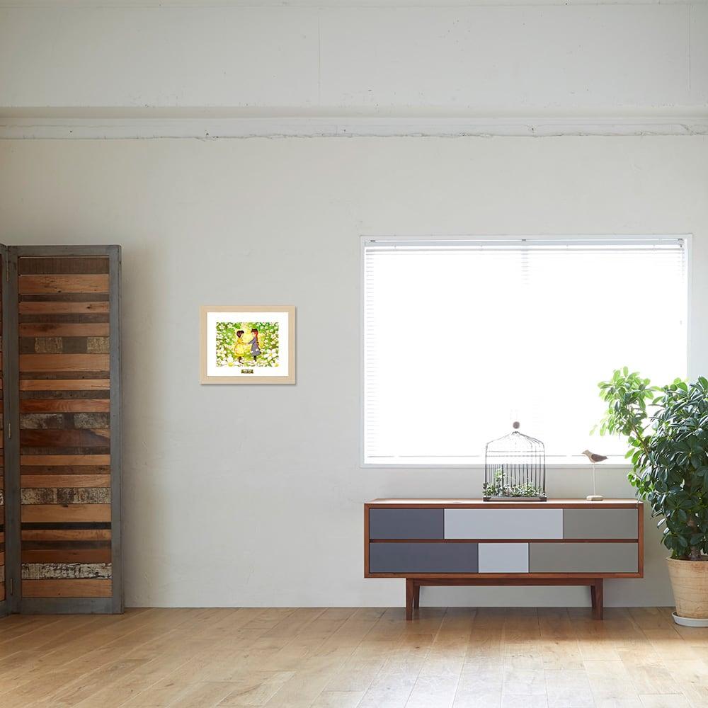 赤毛のアン/アンとダイアナ お部屋に飾ったイメージ
