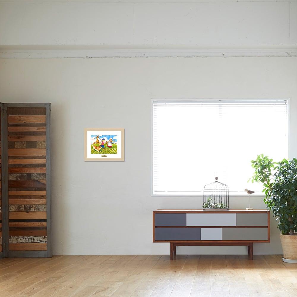フランダースの犬/丘の上で お部屋に飾ったイメージ