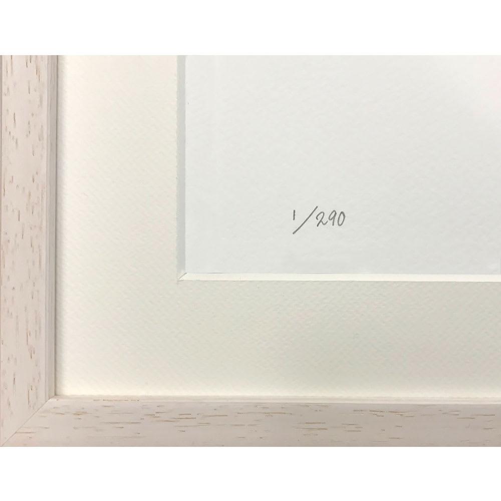 限定アート「くまモンのいる風景」マニャ子 限定290枚。※エディションナンバーは選べません。