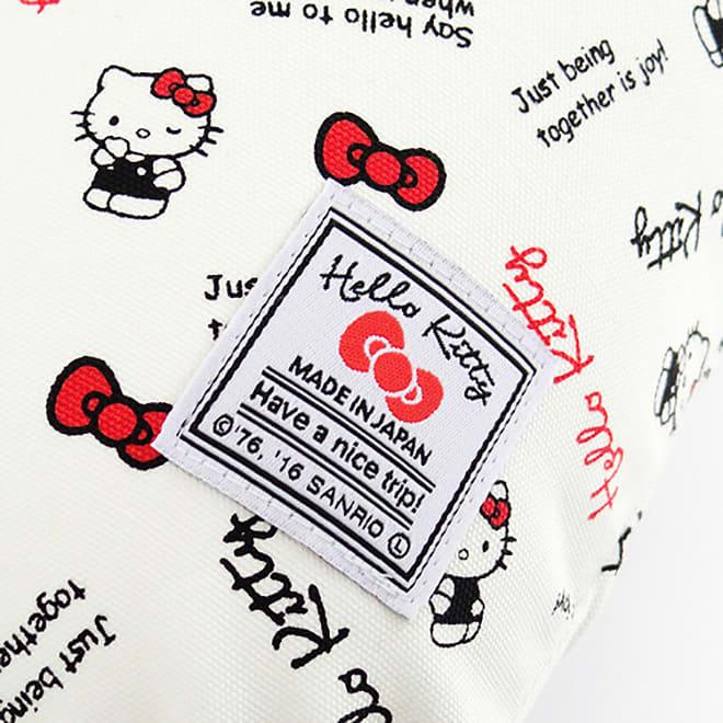 Hello Kitty(ハローキティ)/スタンダードロゴ柄 ネックピロー