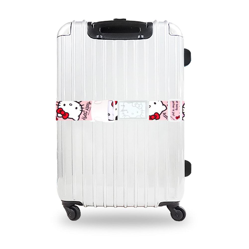 Hello Kitty(ハローキティ)/ワンタッチスーツケースベルト(ワンタッチで簡単) (ア)スタンダード…使用イメージ