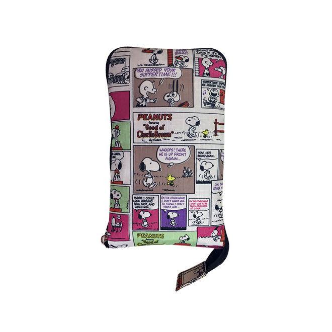 SNOOPY(スヌーピー)/折りたたみトートバッグ|PEANUTS コミックカラー/折りたたむとコンパクトに持ち運べます
