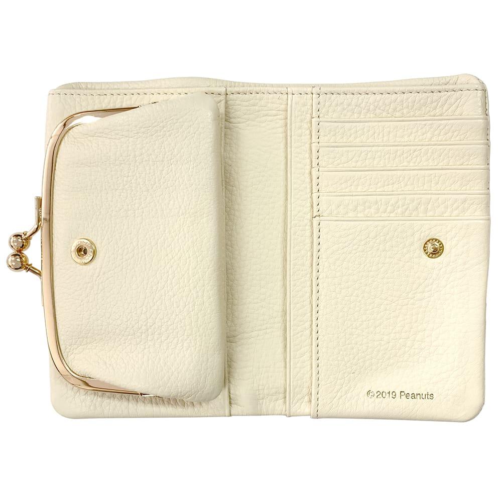 SNOOPY(スヌーピー)/スモーキーパステル がま口二つ折り財布