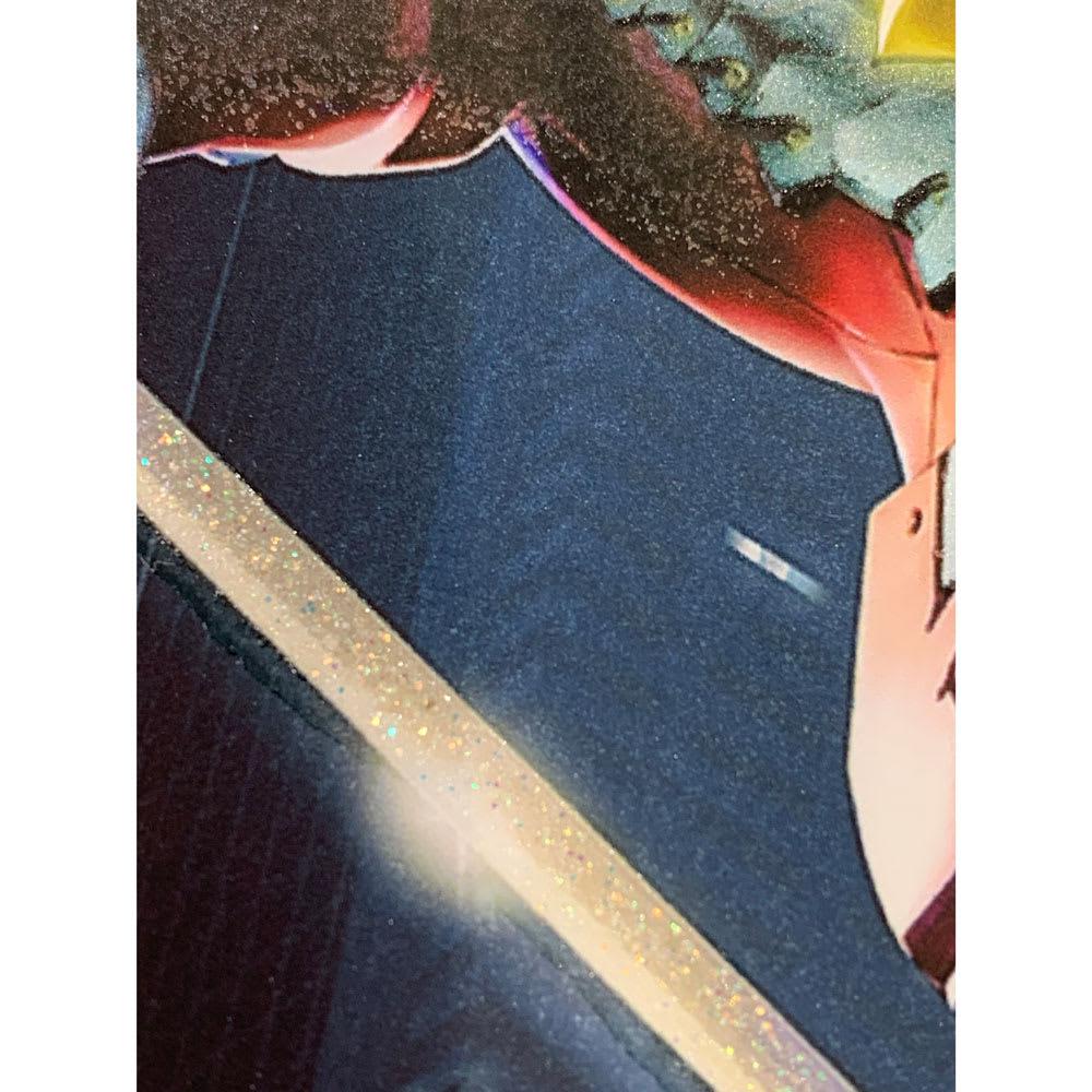 アニメ・ウルトラマン/ULTRAMAN アート・ハイブリッド・限定版 印刷段階でカルサイトを刷り込み光の反射でキラキラと輝きます