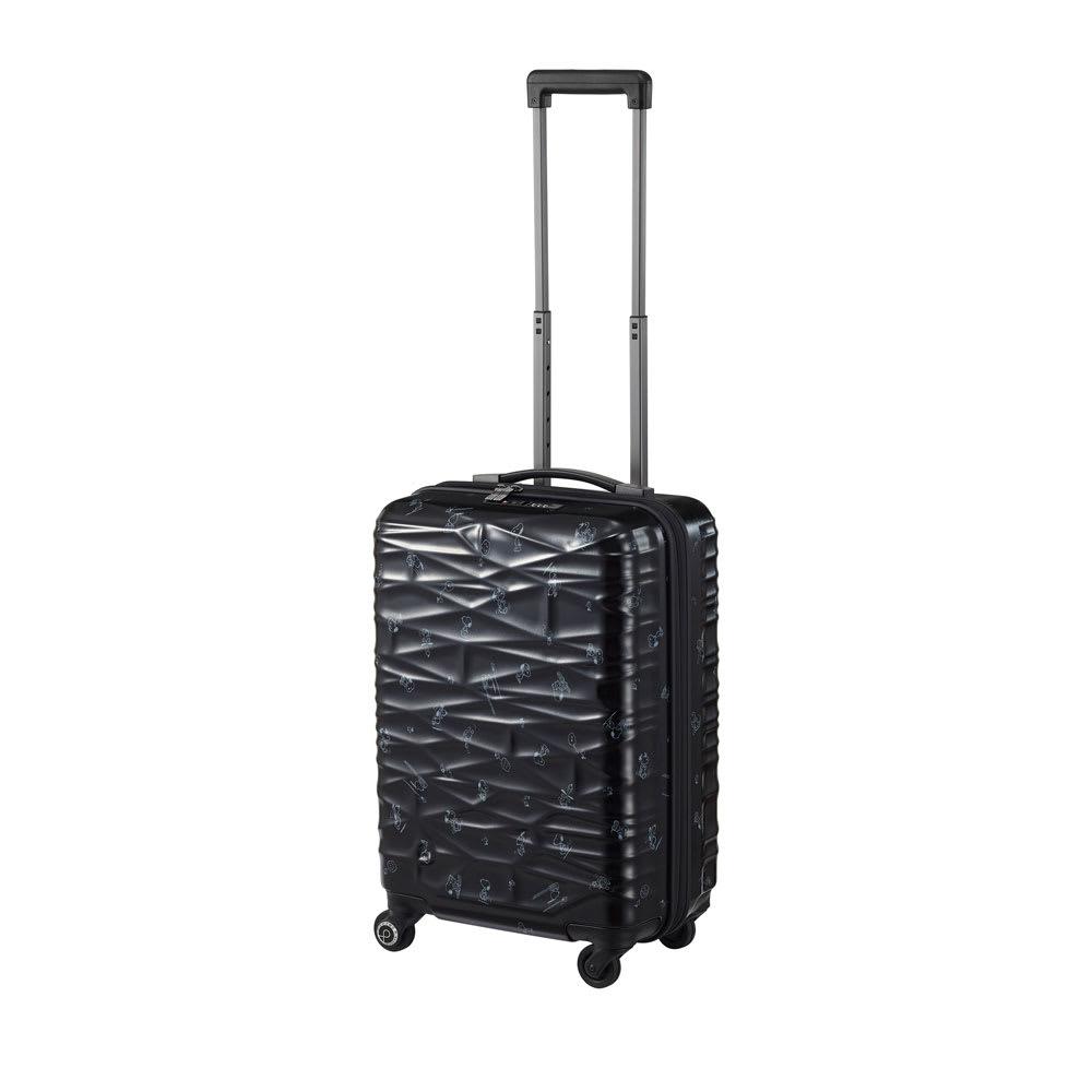 Proteca(プロテカ)/ココナ ピーナッツエディション スーツケース ジッパータイプ 36リットル (ア)ブラック