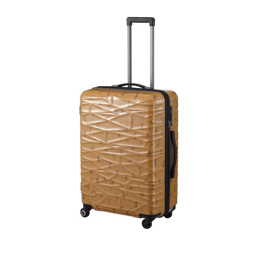 Proteca(プロテカ)/ココナ ピーナッツエディション スーツケース ジッパータイプ 68リットル (イ)ベージュ