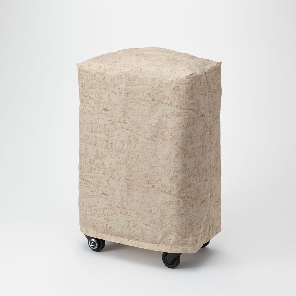 Proteca(プロテカ)/ココナ ピーナッツエディション スーツケース ジッパータイプ 68リットル 内装柄とお揃いのケースカバー付