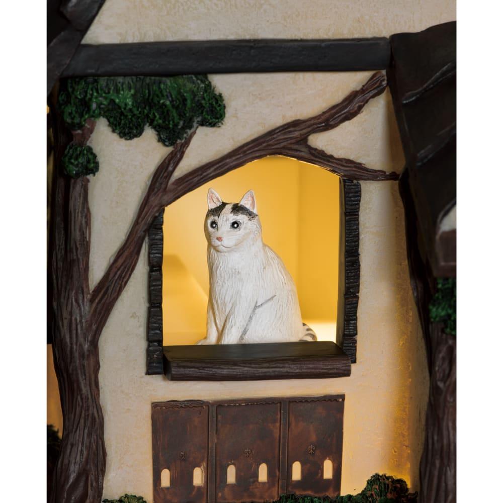 8匹の猫 しあわせの灯り ランプハウス
