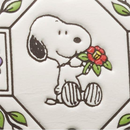 【WEB】SNOOPY(スヌーピー)/吉祥花づくし 浅草文庫 メガネケース|PEANUTS 椿