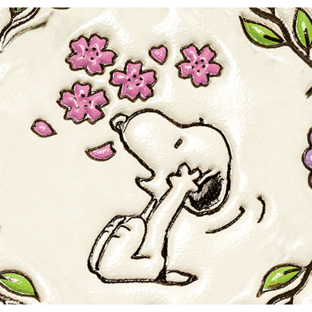 【WEB】SNOOPY(スヌーピー)/吉祥花づくし 浅草文庫 メガネケース|PEANUTS 桜