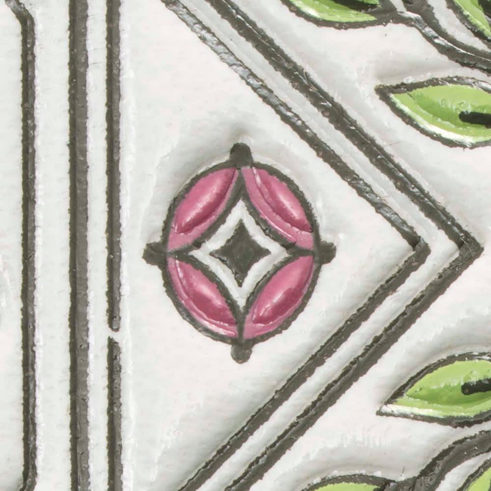 【WEB】SNOOPY(スヌーピー)/浅草文庫 牛革製スマホケース|PEANUTS 七宝…富貴・円満・調和を表す伝統柄。