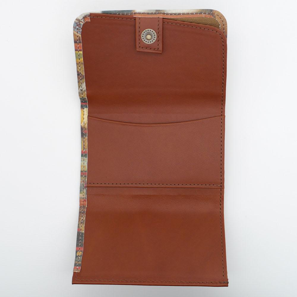 わちふぃーるど/極小三つ折り財布#2 グロッサリー カードポケットは2つ