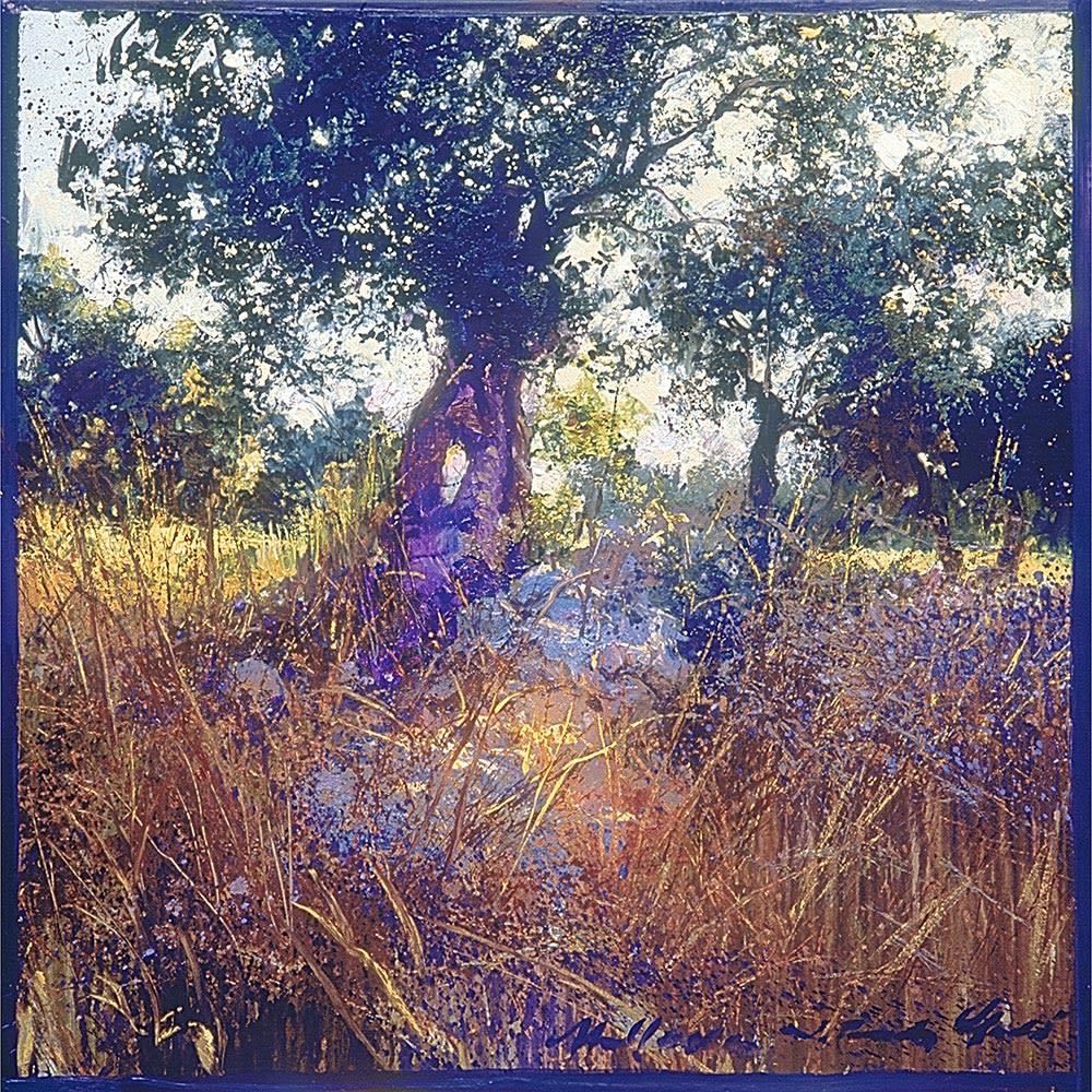 リャド ミニ版画 オリーブの樹