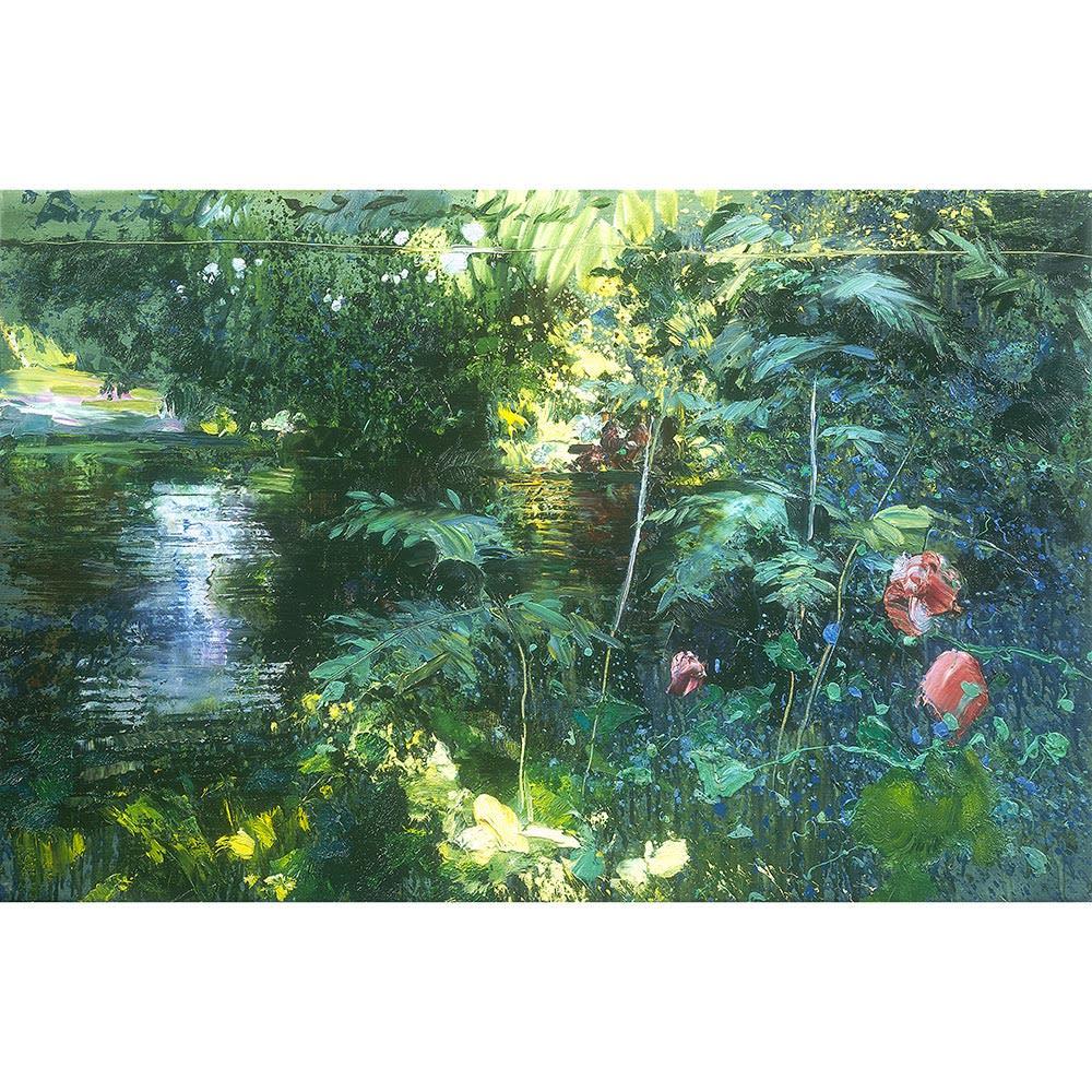 リャド ミニ版画 バガテルの光と水