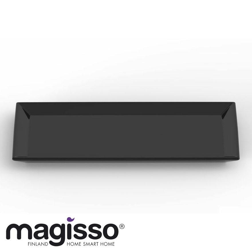 magisso(マギッソ)/ブラックカラーテラコッタ サービングプレート長方形