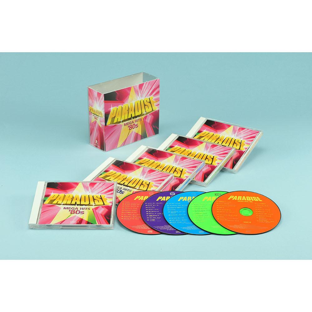 80年代洋楽ベストヒッツ!PARADISE - MEGA HITS '80s CD5枚組