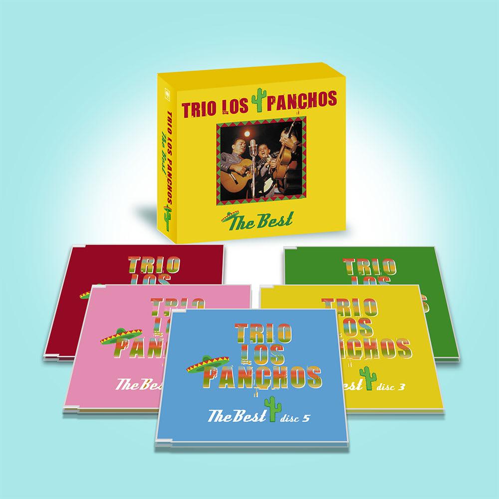 トリオ・ロス・パンチョス ザ・ベスト CD5枚組