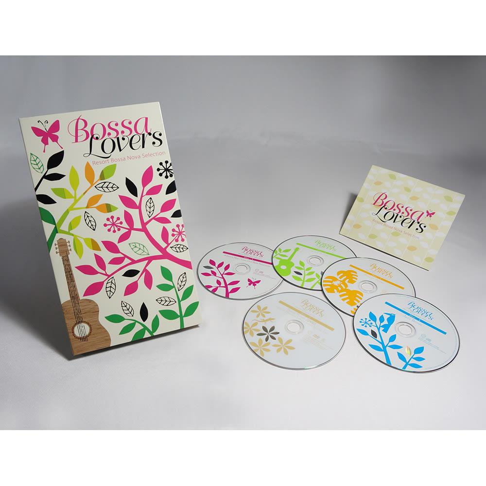 ボッサ・ラヴァーズ リゾート・ボサ・ノヴァ・セレクション(4CD+1DVD)