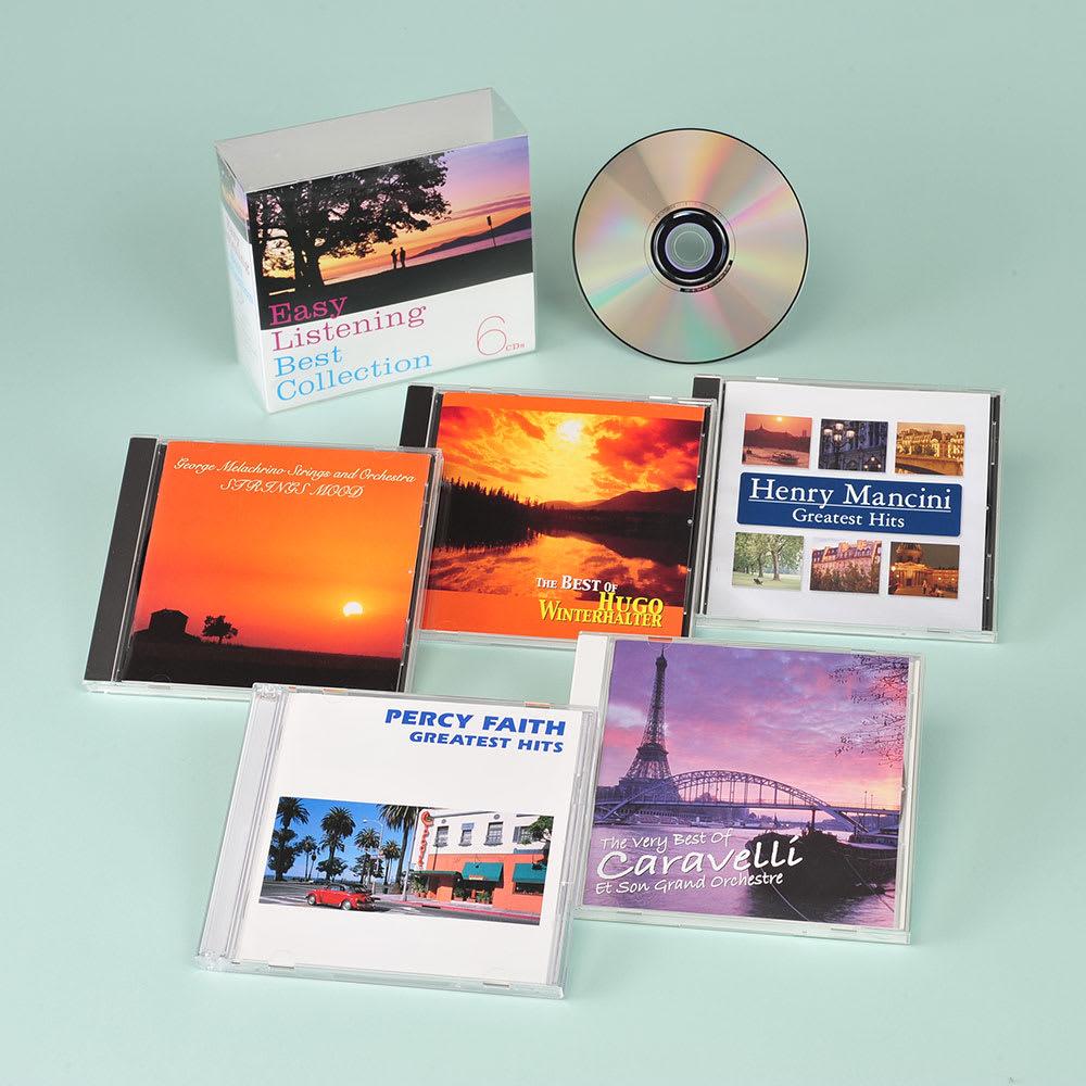 イージーリスニング・ベスト・コレクション CD6枚組 AVソフト・書籍・カレンダー